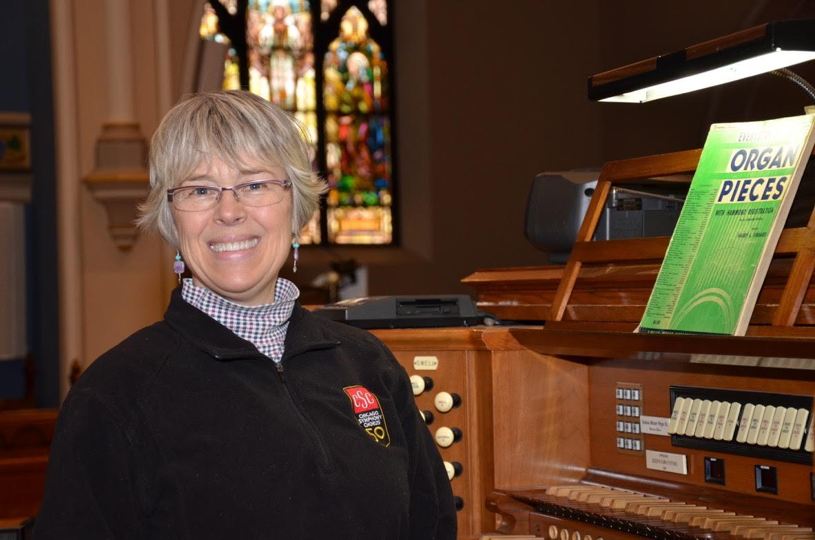Organist - Sharon R Peterson