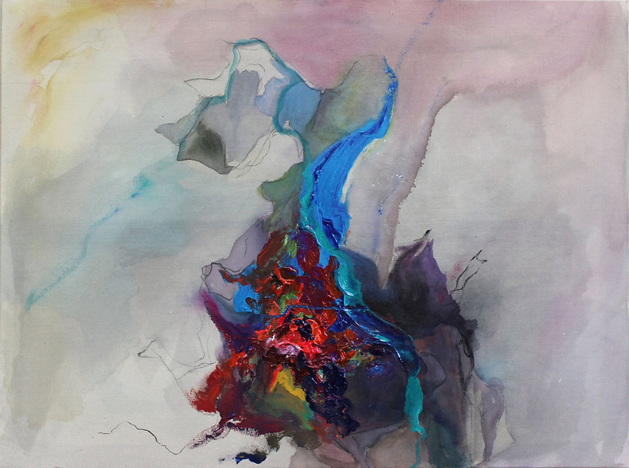 Conteporary abstract painting