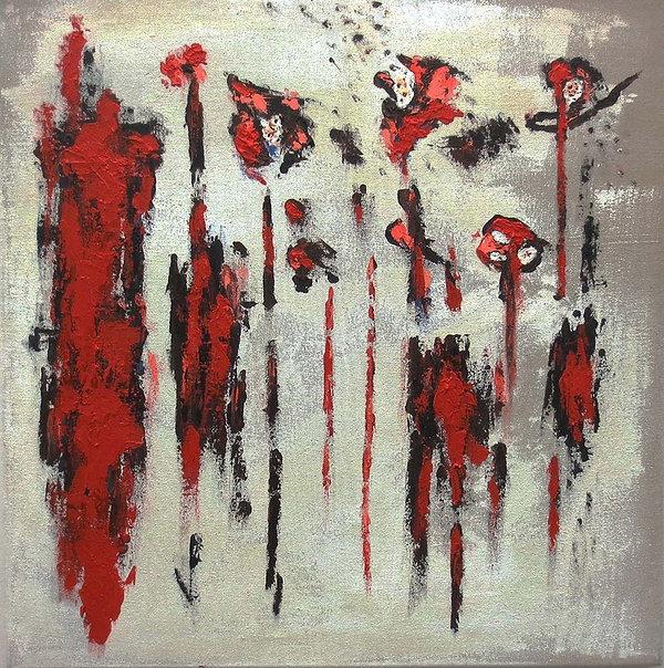 Amarillo Artist abstract painting