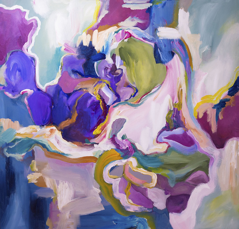 Colorful abstract art by Amarillo, Texas Artist