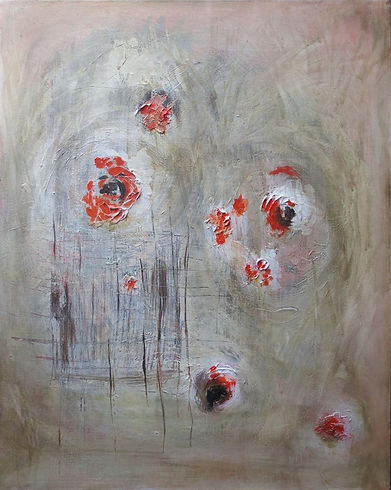 Abstract contemporary painting
