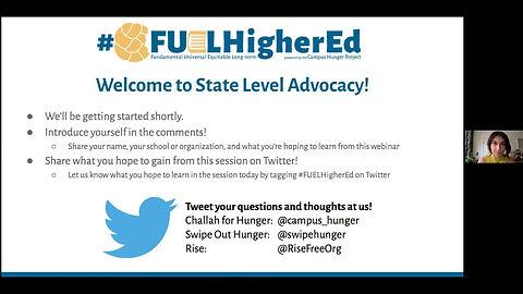 State Level Advocacy