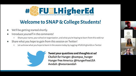 SNAP & College Students