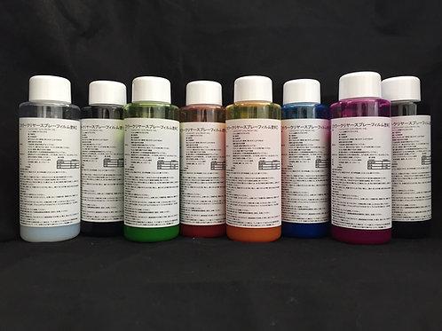 カラークリヤースプレーフィルム塗料