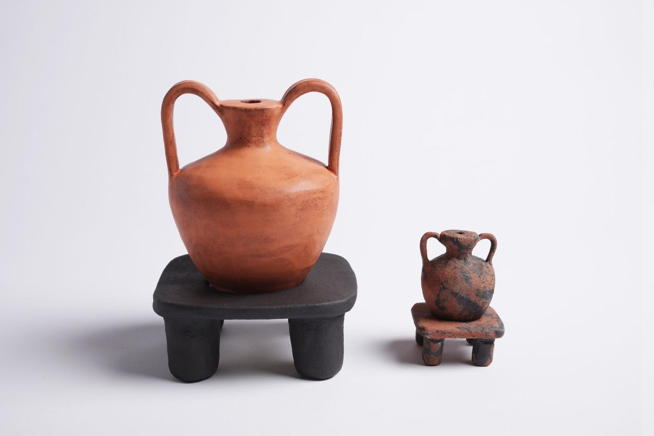 Elevated Amphora