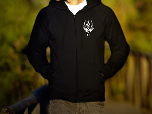 Man Hooded Sweat Jacket