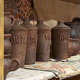 ГЛИНЯНАЯ ПОСУДА, производство горшков, изготовление горшков, гончарная мастерская, кнор, т