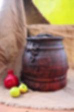 посуда для хранения овощей, глиняное про