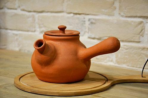 Чайник Косой  0.5 л (Глазурованный)