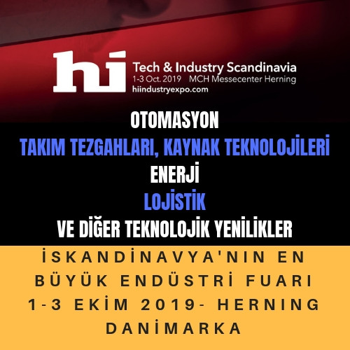 Hi Tech&Industry Show; Danimarka - Herning