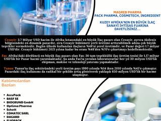 """Magreb Pharma """"28-30 Eylül 2021"""""""