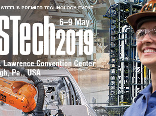 """AISTECH """"Uluslararası Demir ve Çelik Endüstrisi Fuarı """"06 - 09Mayıs 2019, Pittsburgh- Amerika"""