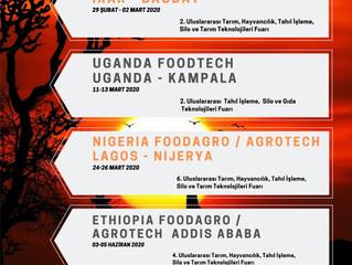 Afrika Tarım Fuarlarına davetlisiniz..
