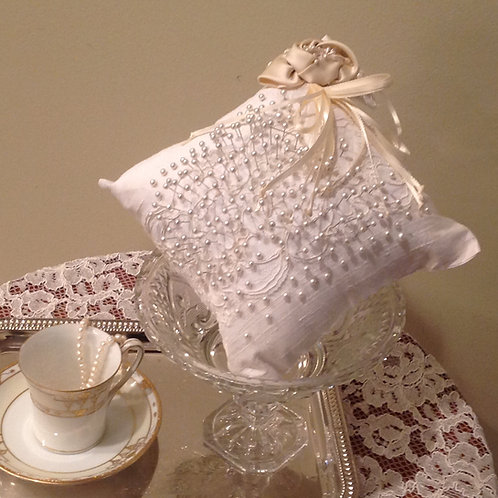 Bridal Pincushion/Ring Bearer Pillow