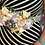 Thumbnail: Maternity Sash with silk and fresh flowers