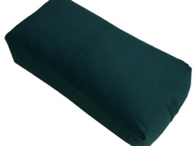 MaxSupport Deluxe Rectangular Cotton Yoga Bolster