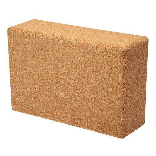 """4"""" Yoga Cork Block"""