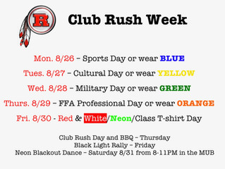 Club Rush Next Week