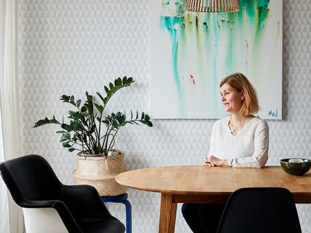 Mikaela Wikström - self-taught intuitive visual artist