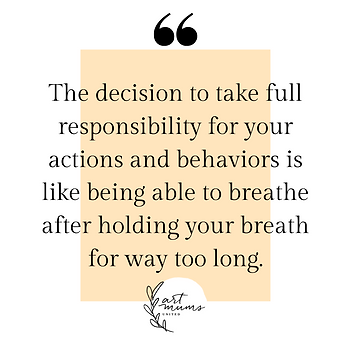 The decision to take full responsibility