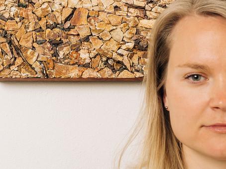 Agnieszka Kwiatkowska - mosaic artist and founder of Aurora Mosaics