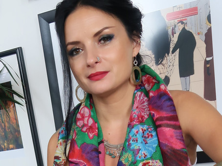 Joanna Pilarczyk Radecka - a colourful figurative artist