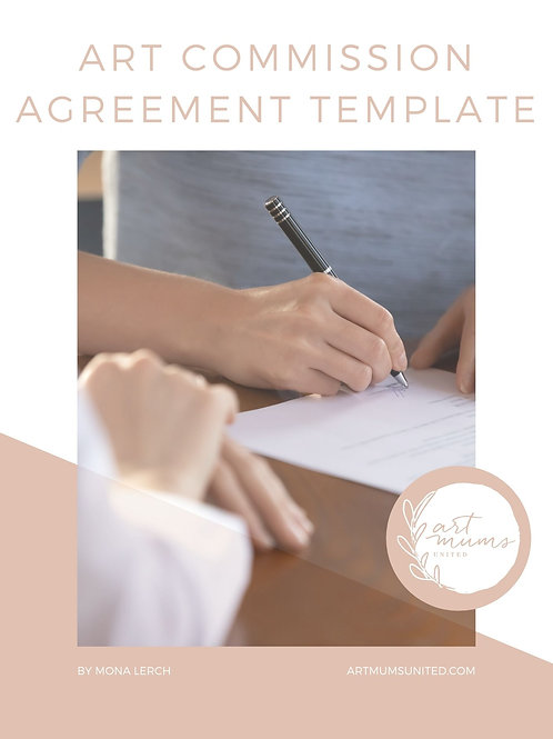 Art Commission Agreement TEMPLATE
