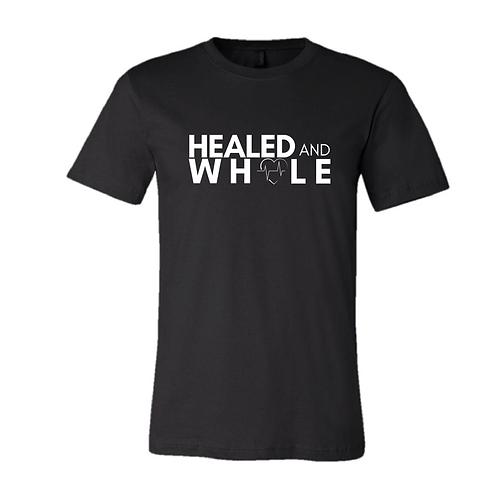 Healed & Whole men's tee