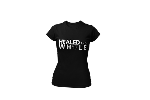 Healed & Whole women's tee