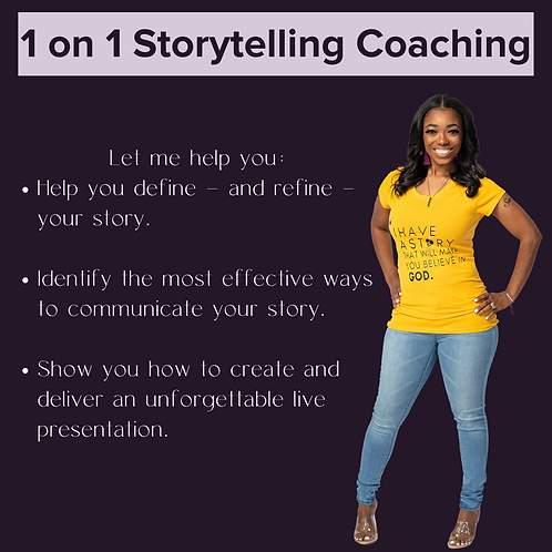 Storytelling Coaching Sessions