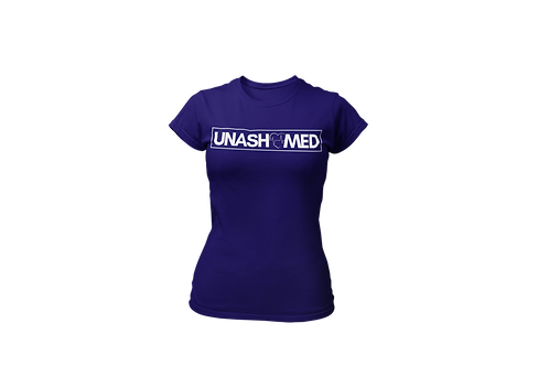 Unashamed women's tee