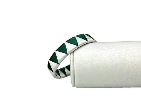 """Armband """"Originals"""" Tannengrün/Weiß"""
