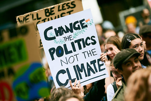School-Strike-4-Climate-protest-signs-in