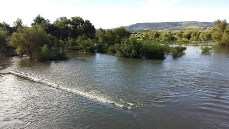 Río Tunal en la Ciudad de Durango, que va desde la Sierra Madre Occidental hasta el sur del mismo valle