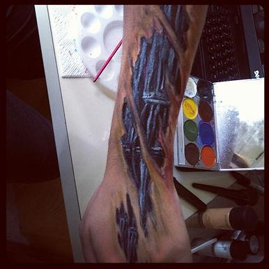 Playing... Bionic Arm