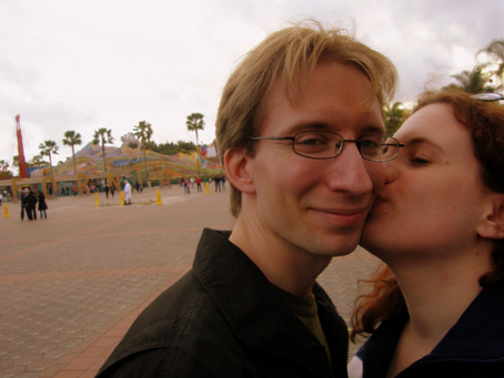 We went to Disneyland...