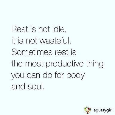 Not idly resting...