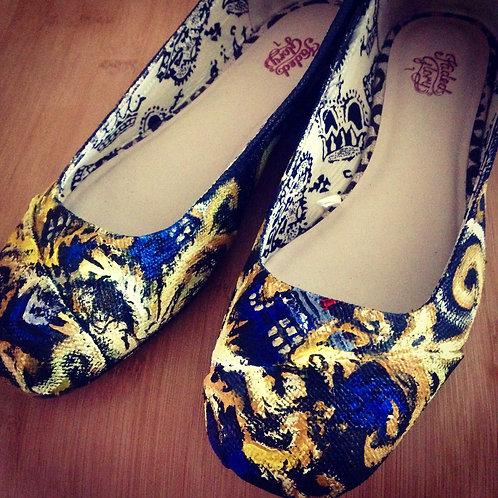 Tardis Custom Shoes