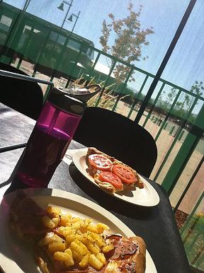 Lunch with my boyfriend...