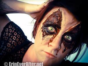 Halloween Makeup by Erin