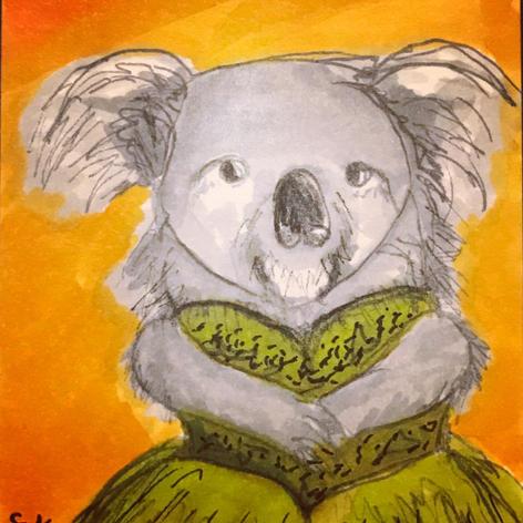 Koala in a Dress