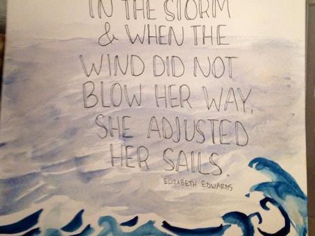 And, we adjust.