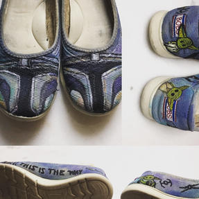 Custom Used Mandalorian Toms