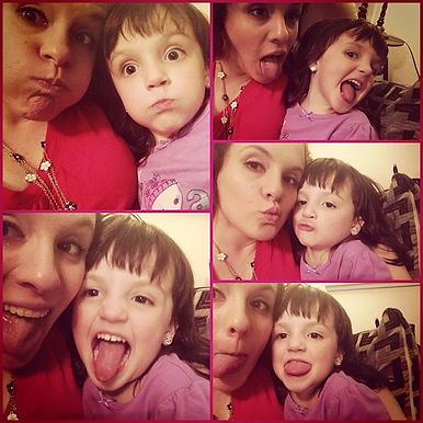 Silly Faces with Maddie