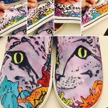 Custom kid's shoes