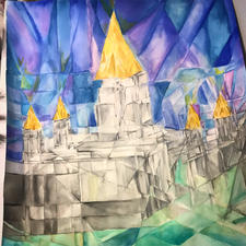 Oakland Temple Cubist