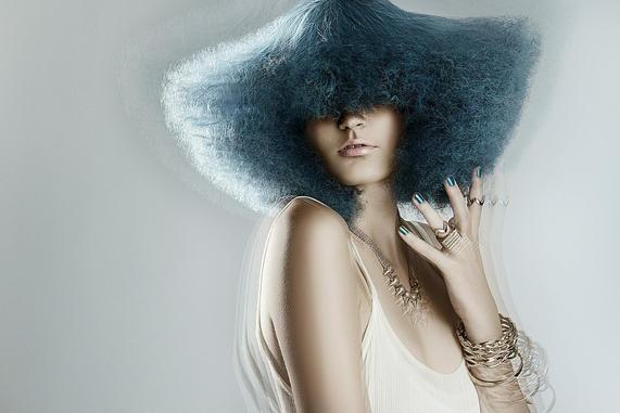 NAHA Editorial Makeup Blue