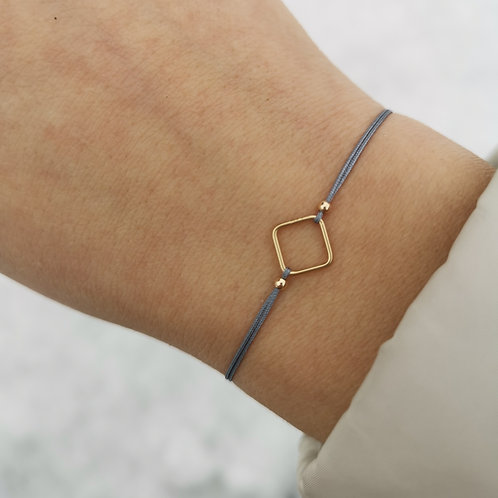 Viereckarmband