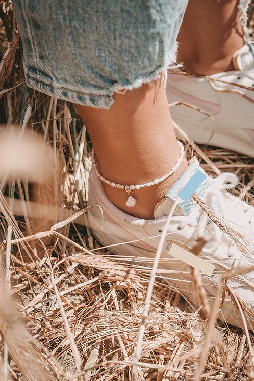 Fußketten mit Süßwasserperlen