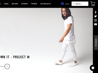Clothing Brand Website